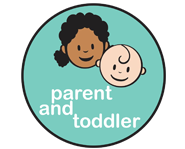 parent and toddler logo intro